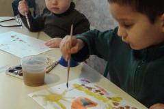 Рисуем в детском саду
