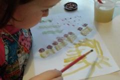 рисунки в частном детском саду воронеж